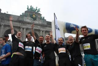 cee en focus team 20 km door Brussel